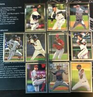 2019 Bowman Heritage Chrome Prospects #53CP HUGE 10 Card Lot NO DUPES (#2)