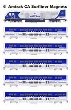 Amtrak California Surfliner Set of 6 magnets Andy Fletcher