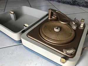 Sammlerstück Koffer-Plattenspieler DUAL Party 1004 S