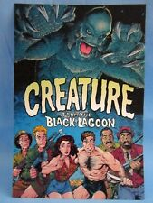 """""""THE CREATURE FROM THE BLACK LAGOON"""" COMIC BOOK DISPLAY SIGN POSTCARD SIZE ~L@@K"""