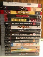 Sony PlayStation 3 / PS3 Video Games  - Pick & Choose Video Game Lot