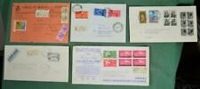 ITALY STAMP COVERS SELECTION OF 5     (F102)