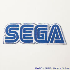 SEGA Game Company Logo Embroidered Iron-On Patch!