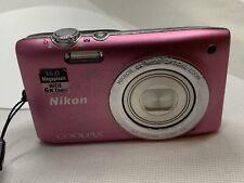 Nikon COOLPIX S2700 16.0MP Digital Camera - Pink