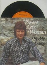 """Buddy Caine  Sweet City Woman (  CV the Stampeders ) , 7"""" 45"""