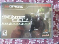 N-Gage - Splinter Cell - Team Stealth Action - NEW