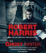 EUC The Ghost Writer by Robert Harris (2010, CD, Abridged, Movie Tie-In)
