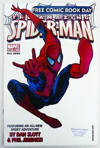 Marvel AMAZING SPIDER-MAN (2007) 1st Jackpot FCBD 2007 Negative VG/FN Ships FREE