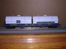 """WALTHERS #3851  C.& O. 100 Ton Cushion Coil Car #306598   """"H.O.Scale"""" 1/87"""