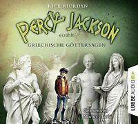 RICK RIORDAN - PERCY JACKSON ERZÄHLT: GRIECHISCHE GÖTTERSAGEN 6 CD NEW