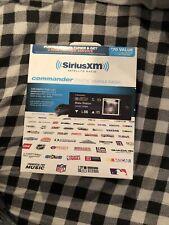Sirius Xm Satellite Radio Commander Touch Vehicle Radio