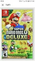 New Super Mario Bros. U Deluxe (Nintendo Switch) - Brand New Sealed