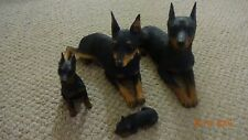 Mini Pinscher Set sandicast, 4 figures, fantastic detail