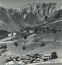ITALIE  c. 1949 - Village Alpestre vers Aoste - Div 11355