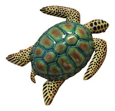 New ListingTropical Sea Turtle Beach Tiki Bar Nursery Kid Bath Wall Decor 8Stw10 Spotted