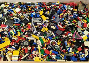Lego 1 kg Kiloware Mischlego Konvolut Sammlung Steine Platten Sondersteine TOP .