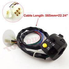 7 Wire ATV Control Left Switch Assy For 50cc 70 90 110 125 cc Kazuma Taotao Sunl