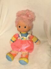 Vintage 80s Baby Brite Doll Rainbow Brite Plush Toy Tickled Pink Hallmark Mattel