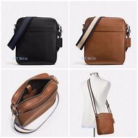 New Coach Mens Charles Flight Bag In Smooth Leather F54782 F59913