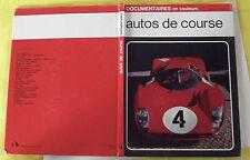 DOCUMENTAIRES EN COULEURS AUTOS DE COURSE FERRARI MERCEDES 1971