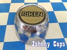 Riken Wheels Chrome Center Caps #N/A Custom Riken Wheels USED Center Cap (1)