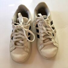 Leather Youth Adidas Sneakers, Size 6