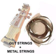 COMPLETE INDIAN SARANGI STRING SET - GUT STRINGS + FULL BRONZE & STEEL METAL STR