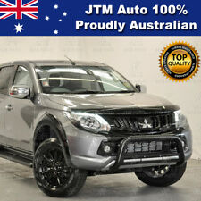 Wrinkle Black OEM Nudge Bar Grille Guard For Mitsubishi Triton MQ 2015-2018