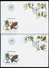 1996 Forest,Conifer Trees and Seeds,Conifere,Nadelbäume,Forest,Romania,5202,FDC