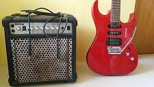 Washburn X-Series 6 String Electric Guitar Crimson RED