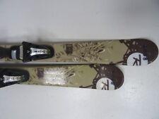 Ski Twin Tip Jugendliche Rossignol S1 mit Bindung, 124cm (CC9727)