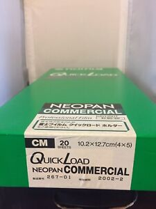 FUJIfilm Sealed Box  Quickload - Neopan Expired