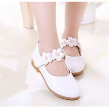 Kids Toddler Baby Flower Wedding Party Dress Shoes Children Princess Dance Shoes