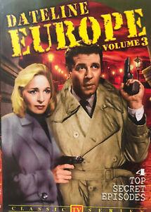 DATELINE EUROPE DVD Volume 3 - Jerome Thor Black & White TV SERIES