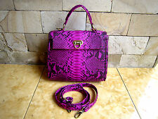 Genuine Crossbody Python real bag Genuine full Leather SnakeSkin Tote Bag Tote