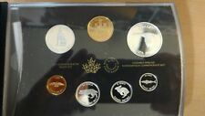 Canada 2017 Commemorative Pure Silver 7-Coin Proof Set - 1967 Centennial Coins