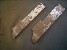 """Set Cutter Iron Stanley No. 55 Are No. 93 & No. 95 - 5/8"""" & 7/8"""" Roman Ogee"""