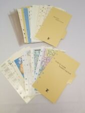 World maps ,Planner paper refill fits,Authentic Louis Vuitton agenda MM Inserts