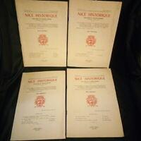 Nice Historique 4 revues Année 1973