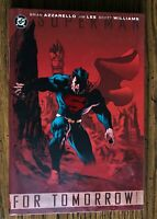 DC Superman: For Tomorrow HC 2009 Vol, 1 (red cover) Near Mint