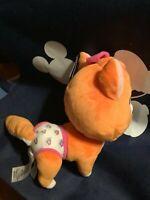 "Disney  T.O.T.S. MIA the KITTEN  Plush 10"" Stuffed Animal NWT"
