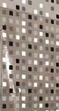 """KLEINE WOLKE Austauschrollo schmal 53x240 cm für Eck-Duschrollo  """"Mosaik grau"""""""