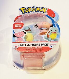 NEW Pokemon Battle Squirtle and Snubbull Action Minifigure Figure Pack Toys