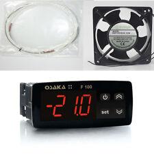 Kit Incubatrici Termostato Osaka + Resistenza Silicone 90 W + Ventilatore 120mm