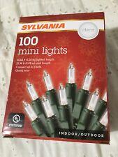Sylvania 100 mini lights Clear Color (Send Best Offer!)