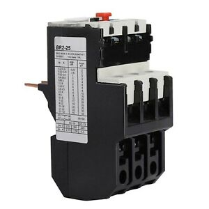 Class 10A Thermal Overload Relay 12 To 18 A 1NO+1NC 50-60hz Plug-in Installation