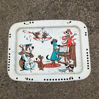 Vintage Hanna Barbera TV Tray Yogi Bear Boo Boo Huckleberry Hound Mr. Jinks