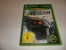 XBOX 360 Need for Speed: PROSTREET