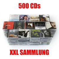 500 AUDIO-CDs zum Top Preis! XXL Sammlung, Konvolut, Musik, CD, Alben, Sampler
