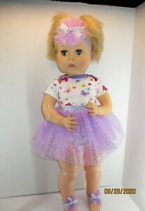 """Doll Clothes fit Horsman Thirsty Walker 27"""" doll Ballerina TUTU OUTFIT  NO DOLL"""